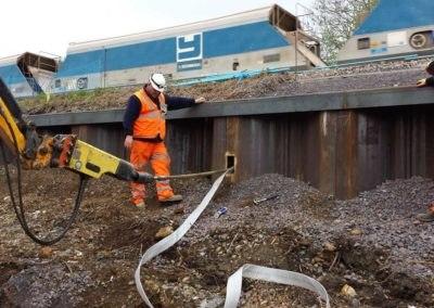 Westbury Station Embankment Drainage – UK