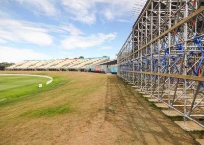 Hagley Oval Temporary Stadium – New Zealand