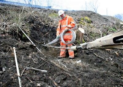 Burgess Hill Embankment Strengthening – UK