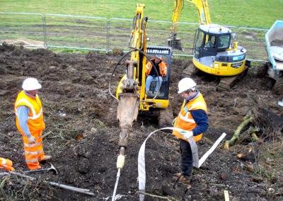 Burgess Hill Embankment Strengthening 002 - enhanced