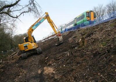 Burgess Hill Embankment Strengthening 056 - enhanced