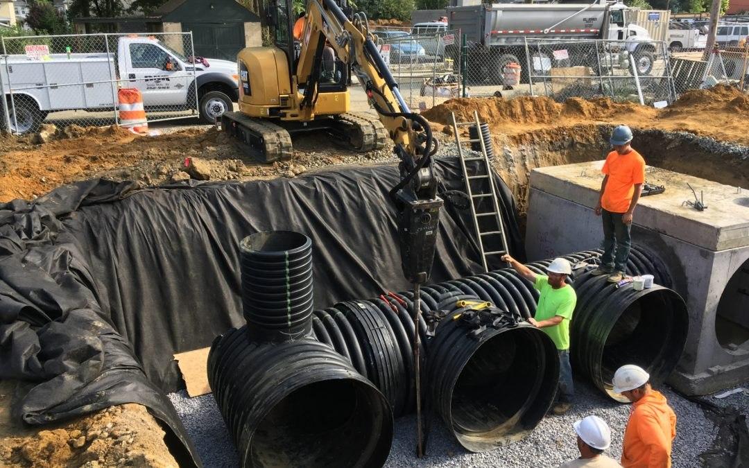 Towne Center at Haddon Underground Storage System – USA