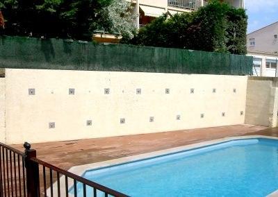Réparation Du Mur De Soutènement D'une Villa, Marseillan, France
