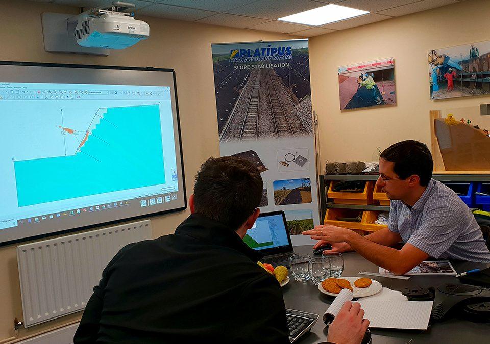 Visite des ingénieurs de chez notre partenaire Suisse Anteq