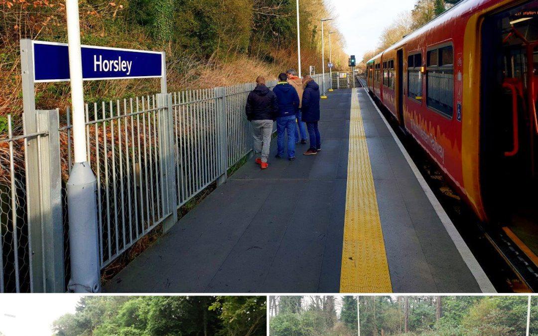 La gare de Horsley